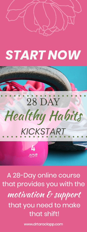 28 Day Healthy Habits Online Course by Dr. Tara Clapp, ND