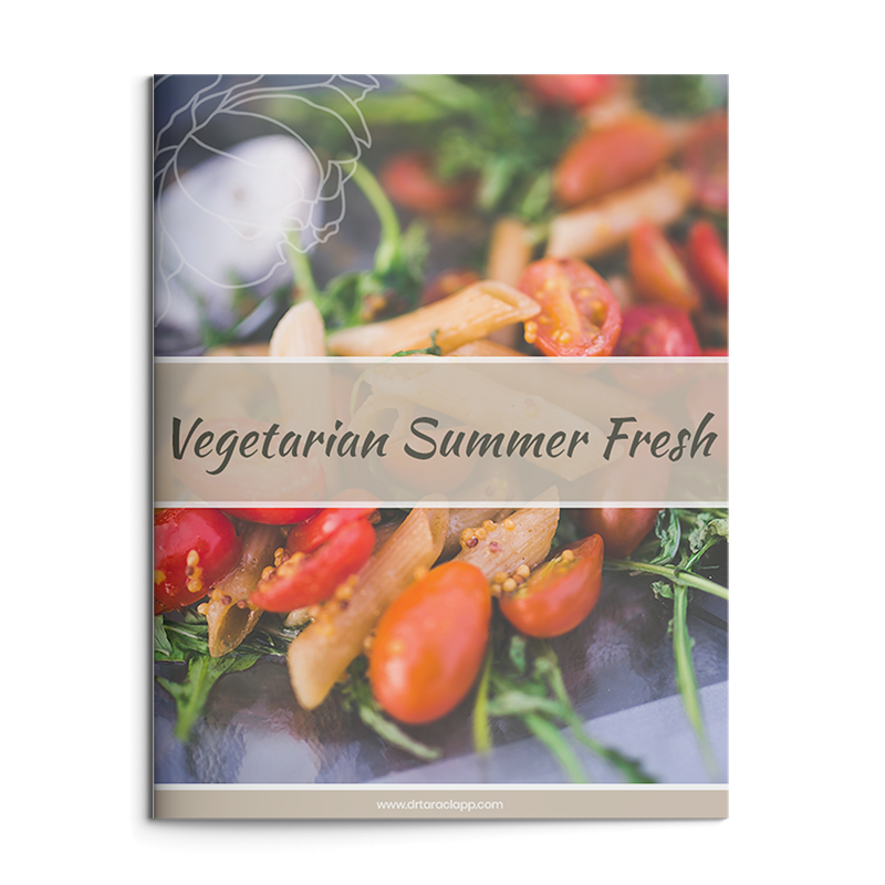 Vegetarian Meal Planning Recipes eBook by Dr. Tara Clapp, ND is available for sale