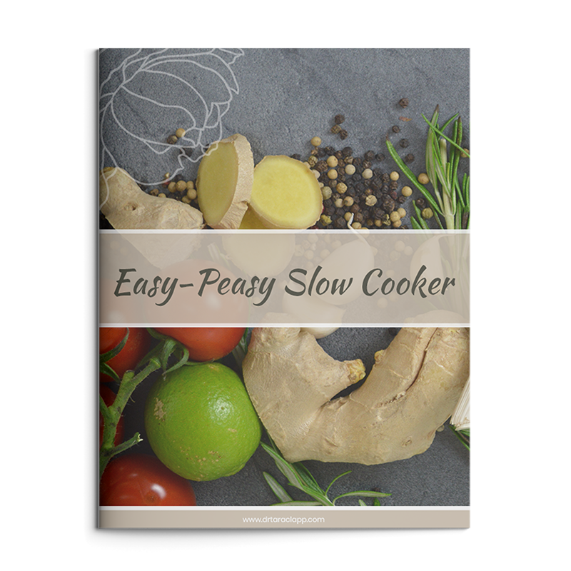 Easy Slow Cooker Recipes eBook by Dr. Tara Clapp, ND is available for sale