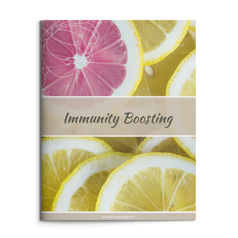 Immunity Boosting Recipes eBook by Dr. Tara Clapp, ND is available for purchase