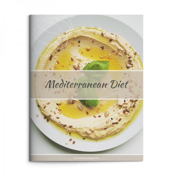 Mediterranean Diet Recipe eBook by Dr. Tara Clapp, ND is available for purchase