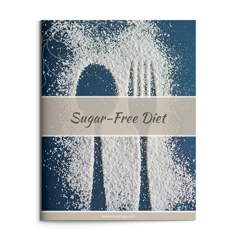 Sugar-Free Diet Recipe eBook by Dr. Tara Clapp, ND is available for purchase