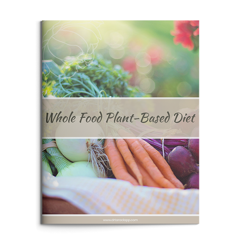 Whole Food Plant-Based Diet Recipe eBook by Dr. Tara Clapp, ND is available for purchase