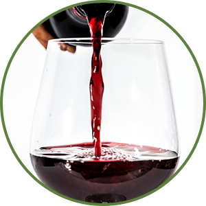 Glass of Wine - Alcohol Affects Your Weight Loss Efforts - Dr. Tara Clapp, ND