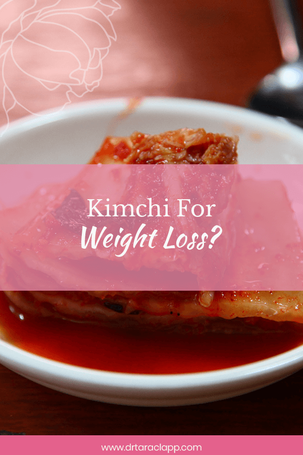 Eating weight kimchi lost i