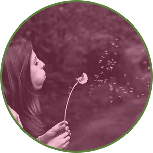 Tips for Forgiving Yourself  - Release Negative Emotions - Woman blowing a dandelion in the wind